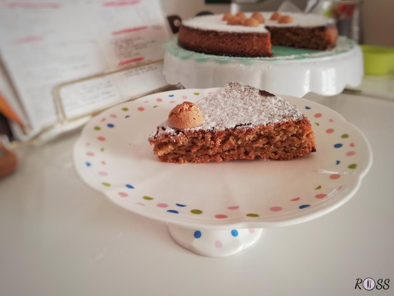 Torta Con Amaretti Senza Latte E Senza Burro Rossincucina