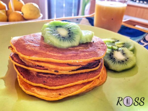 Pancakes con zucca