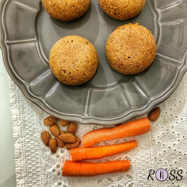 Tortini di carote light