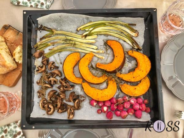 Verdure al forno ( l'orto in tavola)