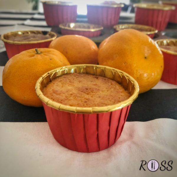 Tortini ai mandarini e mandorle